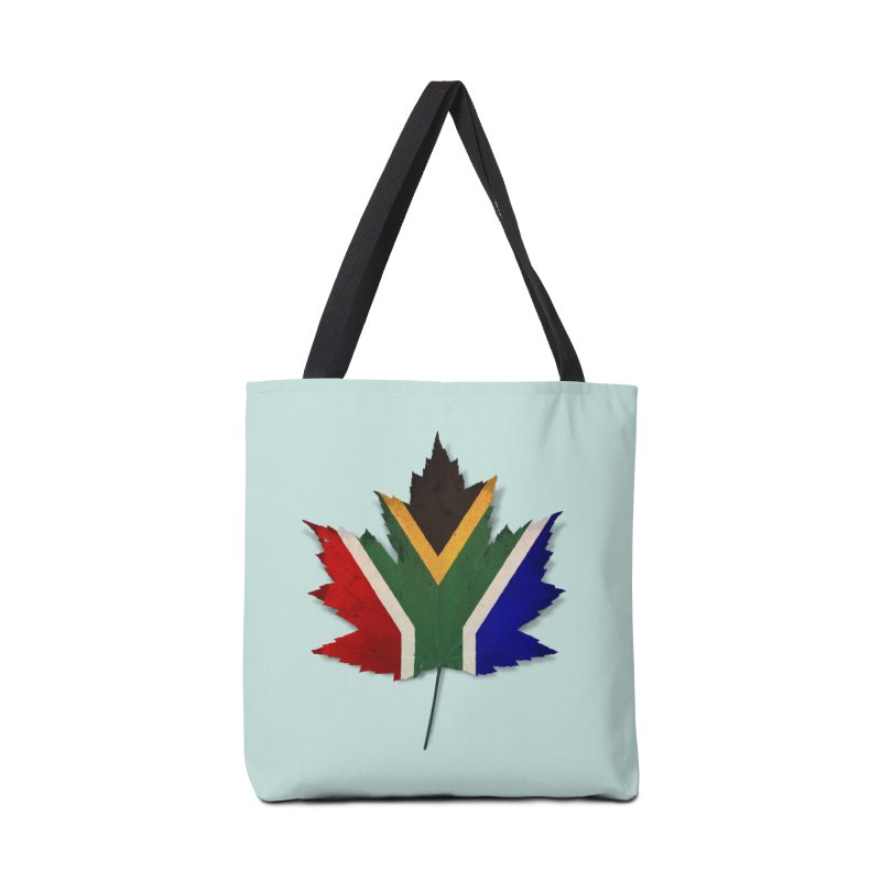 South Africa Maple Accessories Tote Bag Bag by Hadeda Creative's Artist Shop