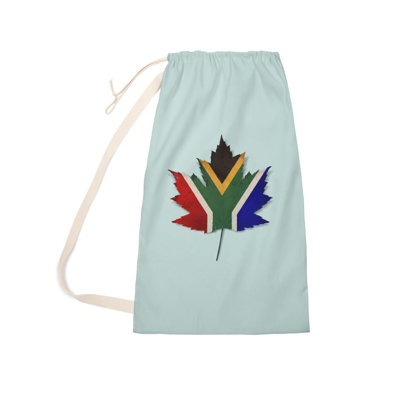South Africa Maple Accessories Laundry Bag Bag by Hadeda Creative's Artist Shop