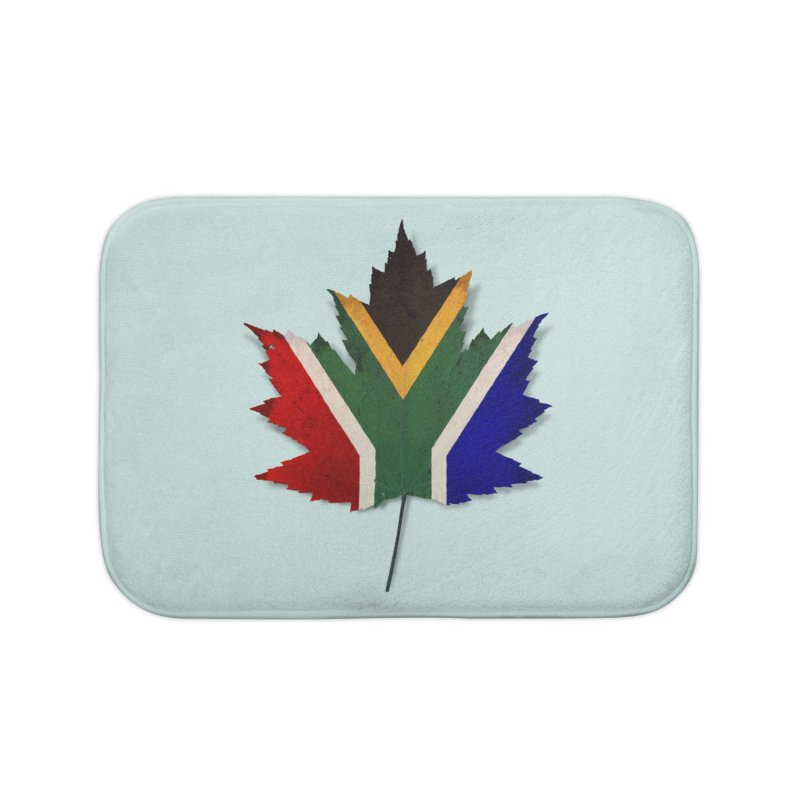 South Africa Maple Home Bath Mat by Hadeda Creative's Artist Shop