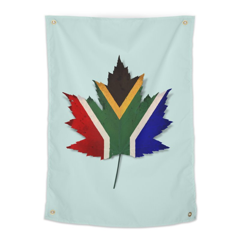 South Africa Maple Home Tapestry by Hadeda Creative's Artist Shop