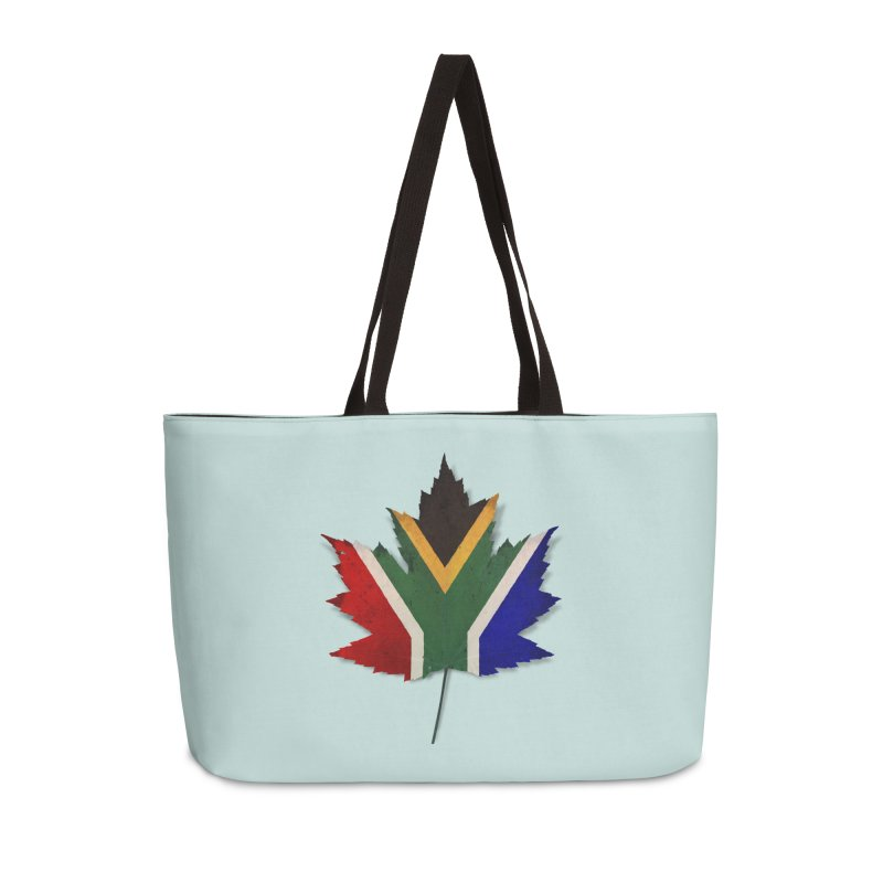 South Africa Maple Accessories Weekender Bag Bag by Hadeda Creative's Artist Shop