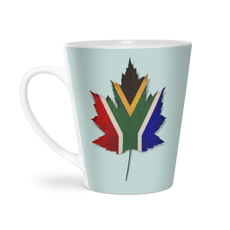 South Africa Maple Accessories Latte Mug by Hadeda Creative's Artist Shop