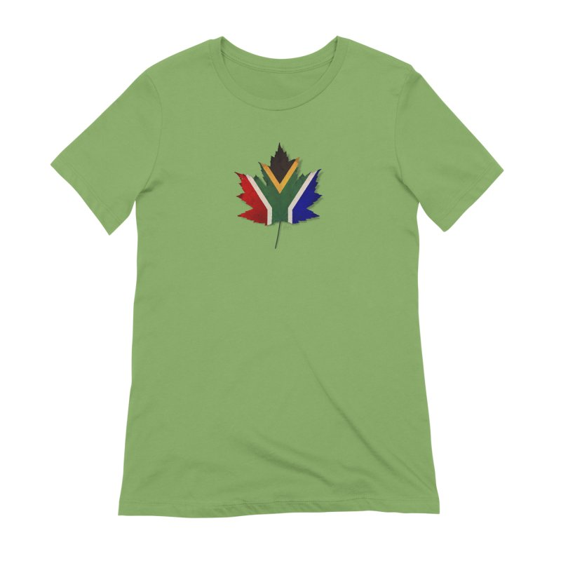 South Africa Maple Women's Extra Soft T-Shirt by Hadeda Creative's Artist Shop