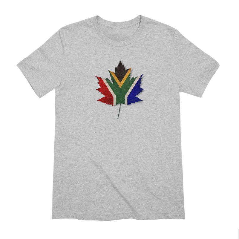 South Africa Maple Men's Extra Soft T-Shirt by Hadeda Creative's Artist Shop