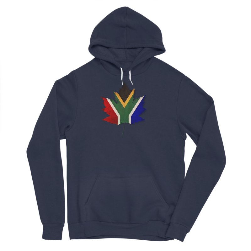 South Africa Maple Men's Sponge Fleece Pullover Hoody by Hadeda Creative's Artist Shop