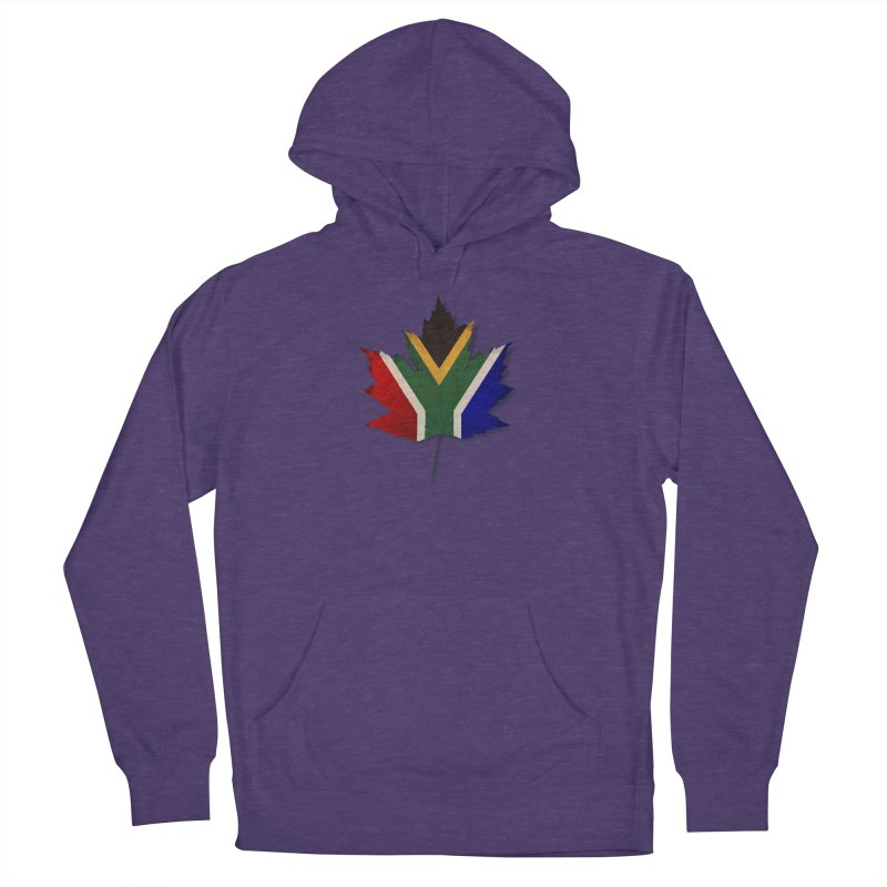 South Africa Maple Women's French Terry Pullover Hoody by Hadeda Creative's Artist Shop