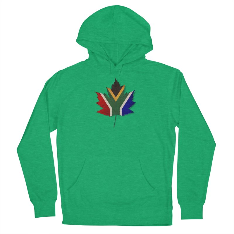 South Africa Maple Men's French Terry Pullover Hoody by Hadeda Creative's Artist Shop