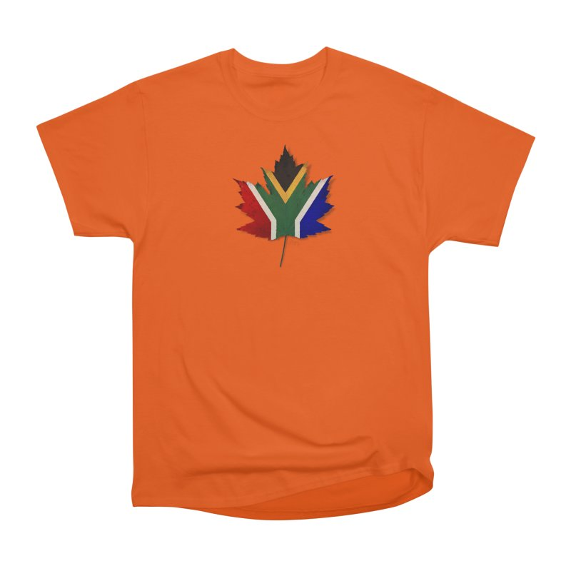 South Africa Maple Men's Heavyweight T-Shirt by Hadeda Creative's Artist Shop