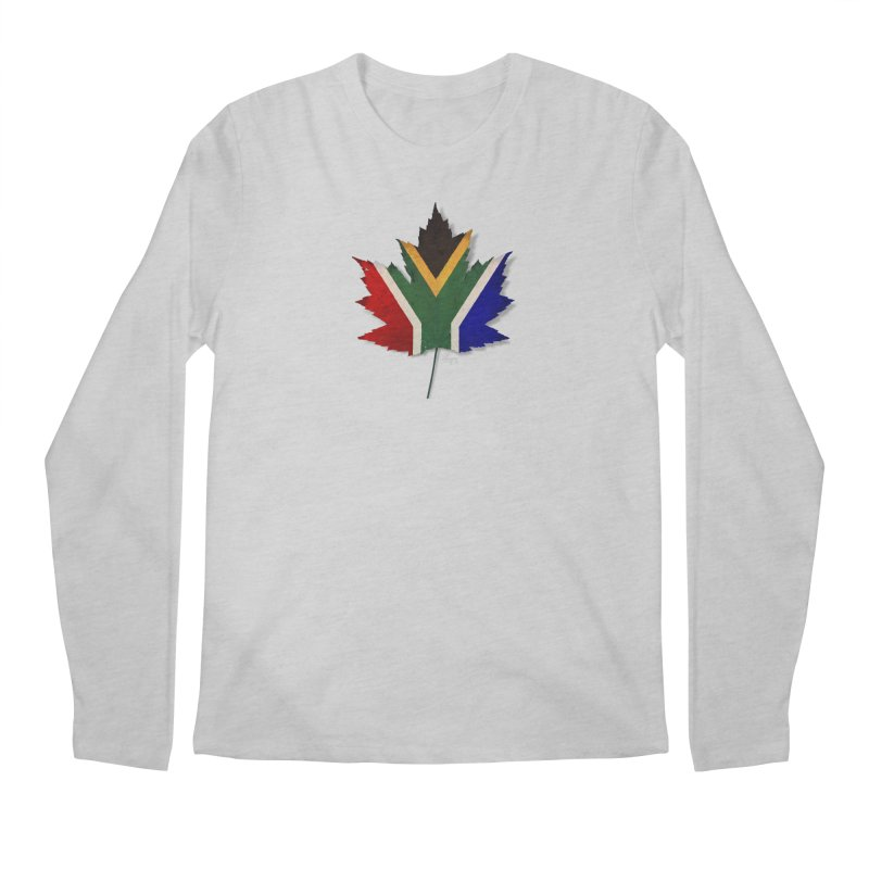 South Africa Maple Men's Regular Longsleeve T-Shirt by Hadeda Creative's Artist Shop