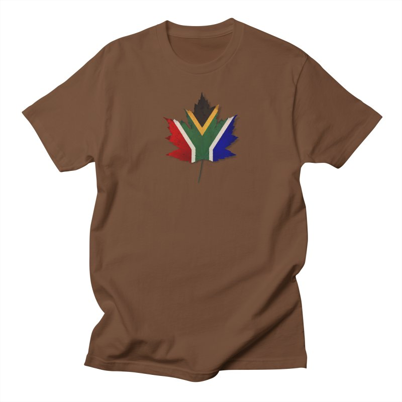 South Africa Maple Women's Regular Unisex T-Shirt by Hadeda Creative's Artist Shop