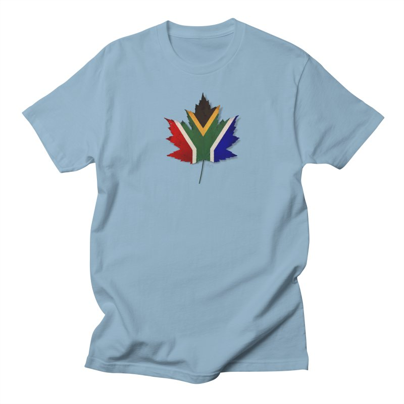 South Africa Maple Men's Regular T-Shirt by Hadeda Creative's Artist Shop