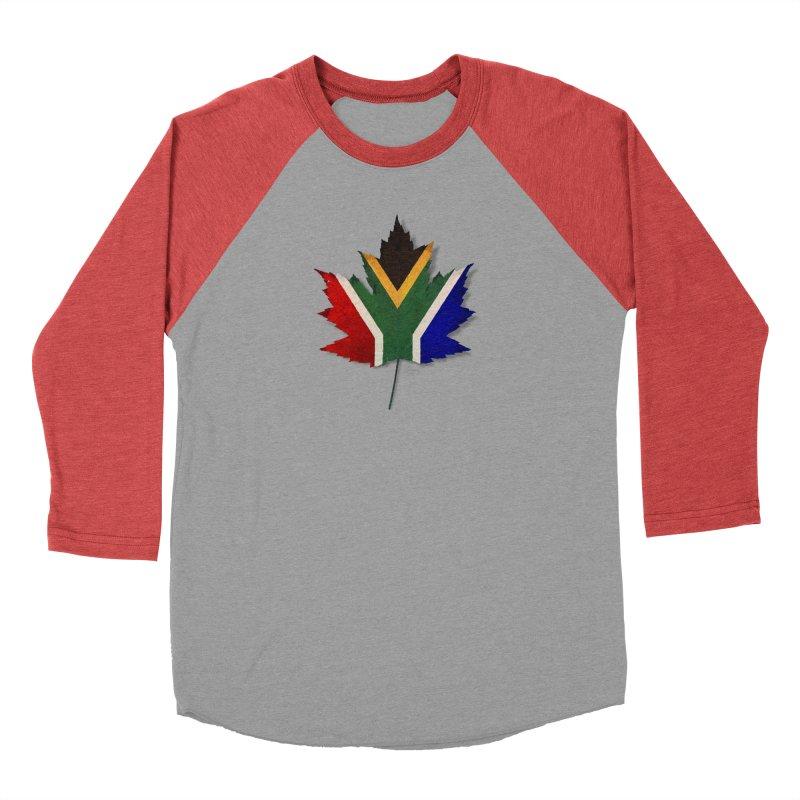 South Africa Maple Men's Baseball Triblend Longsleeve T-Shirt by Hadeda Creative's Artist Shop