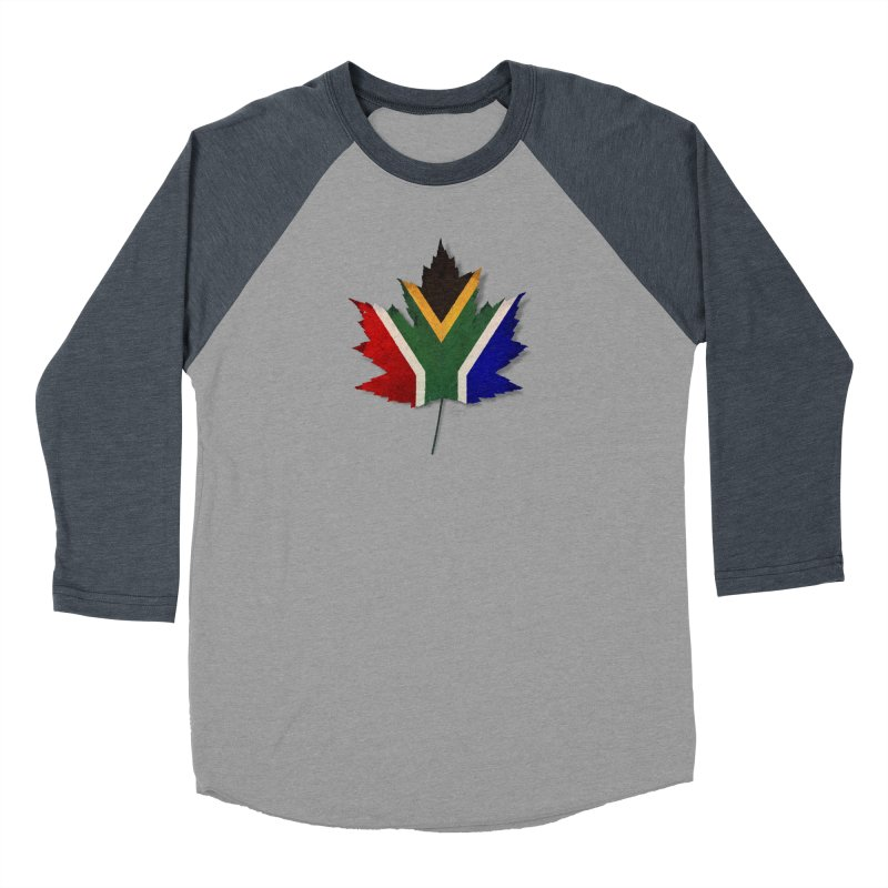 South Africa Maple Men's Baseball Triblend Longsleeve T-Shirt by Hadeda Creative's Artist Shop