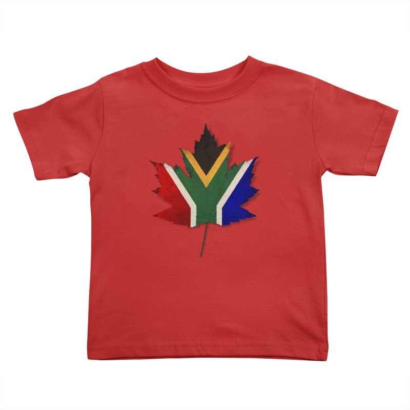 South Africa Maple Kids Toddler T-Shirt by Hadeda Creative's Artist Shop