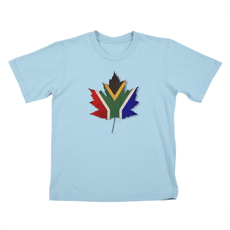 South Africa Maple Kids T-Shirt by Hadeda Creative's Artist Shop
