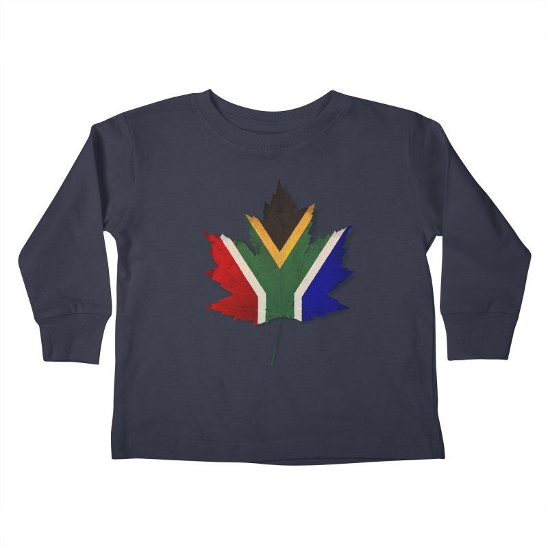 South Africa Maple Kids Toddler Longsleeve T-Shirt by Hadeda Creative's Artist Shop