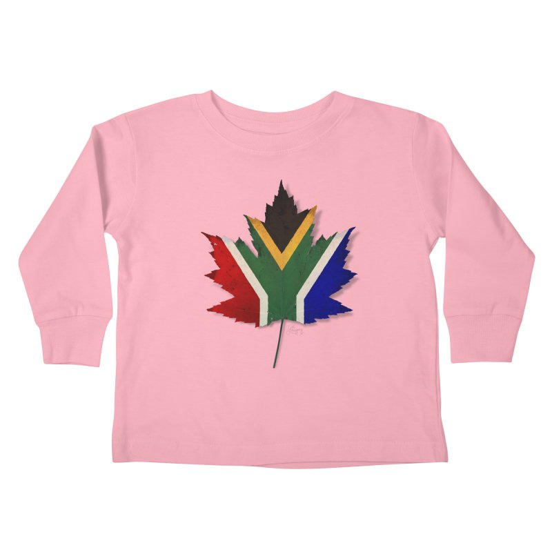 South Africa Maple Kids Toddler Longsleeve T-Shirt by Hadeda Creative's Artist Shop