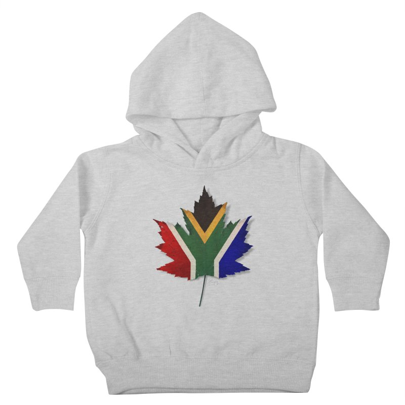 South Africa Maple Kids Toddler Pullover Hoody by Hadeda Creative's Artist Shop