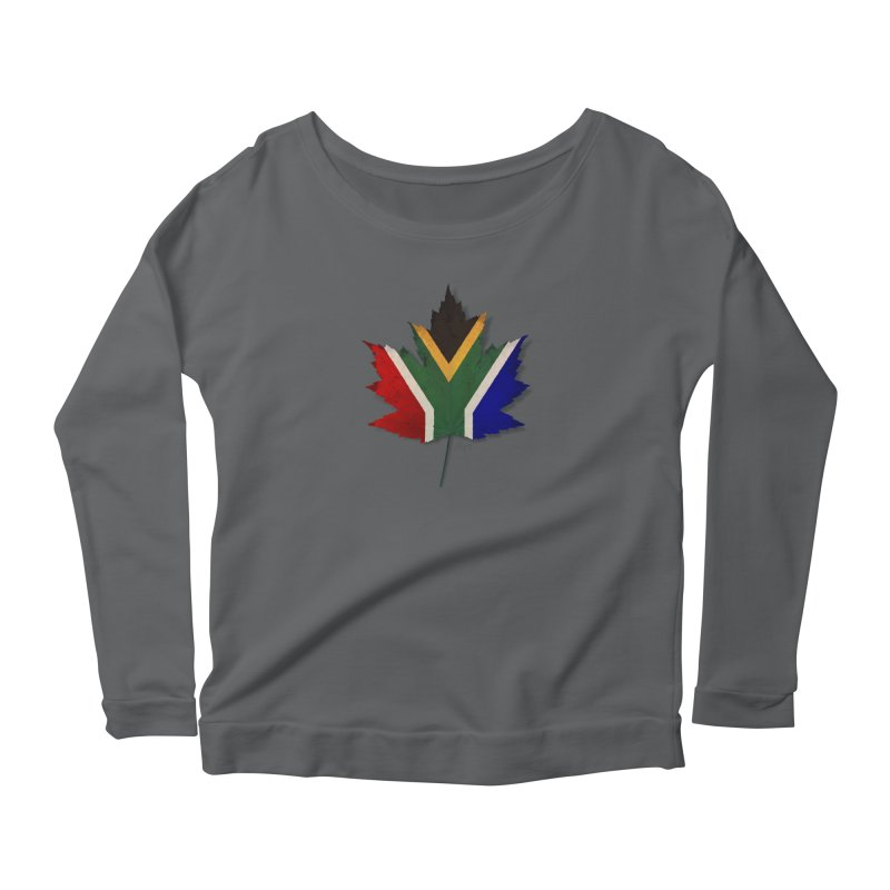 South Africa Maple Women's Scoop Neck Longsleeve T-Shirt by Hadeda Creative's Artist Shop
