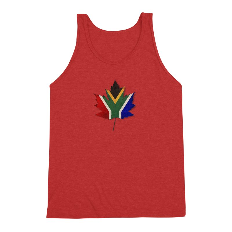 South Africa Maple Men's Triblend Tank by Hadeda Creative's Artist Shop