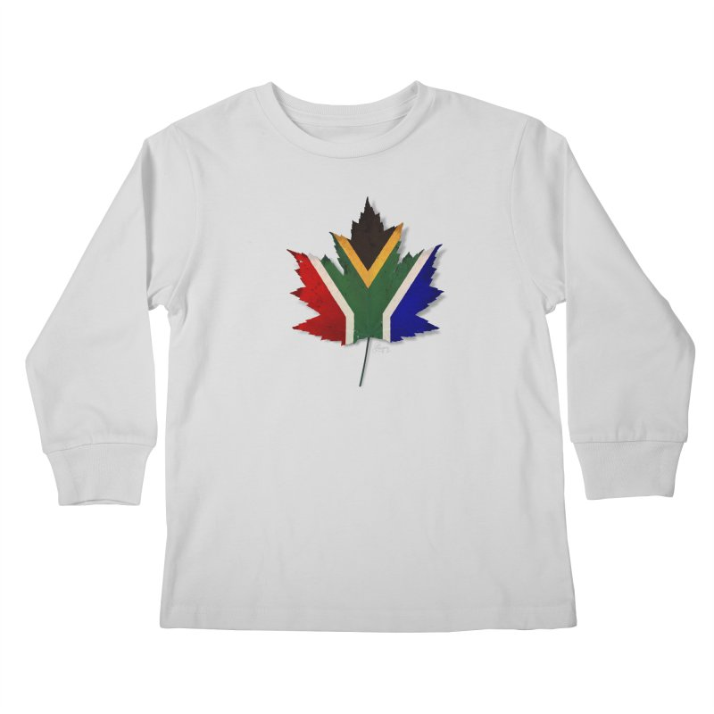 South Africa Maple Kids Longsleeve T-Shirt by Hadeda Creative's Artist Shop