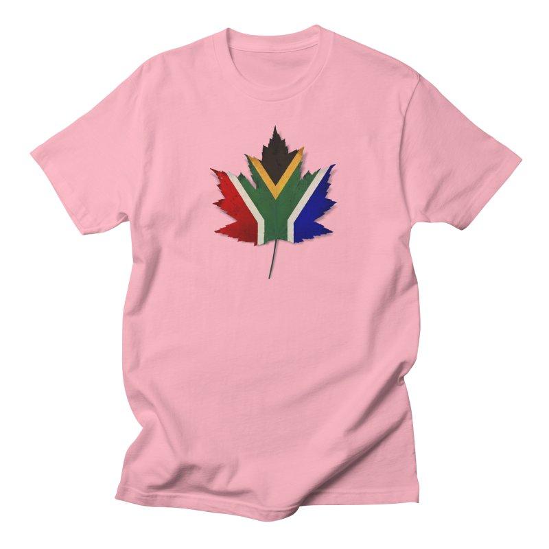 South Africa Maple Men's T-Shirt by Hadeda Creative's Artist Shop