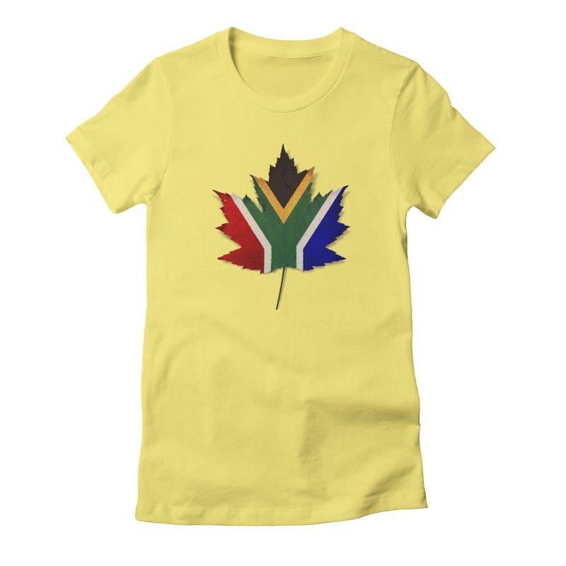 South Africa Maple Women's T-Shirt by Hadeda Creative's Artist Shop