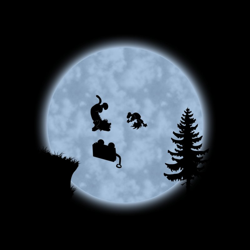 Calvin & Hobbes / E.T. Crossover Kids T-Shirt by Hadeda Creative's Artist Shop