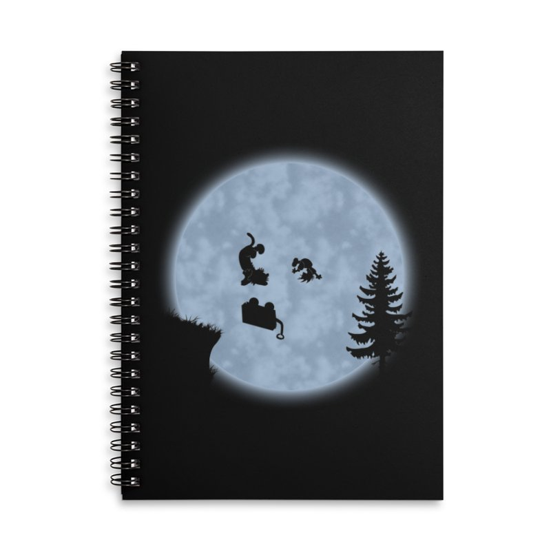 Calvin & Hobbes / E.T. Crossover Accessories Notebook by Hadeda Creative's Artist Shop