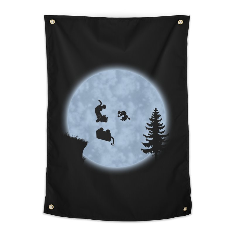 Calvin & Hobbes / E.T. Crossover Home Tapestry by Hadeda Creative's Artist Shop