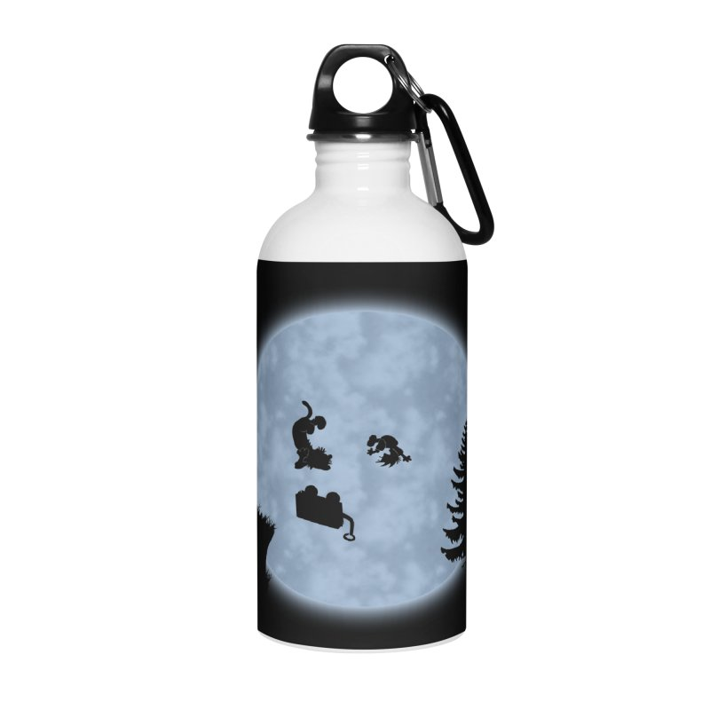 Calvin & Hobbes / E.T. Crossover Accessories Water Bottle by Hadeda Creative's Artist Shop