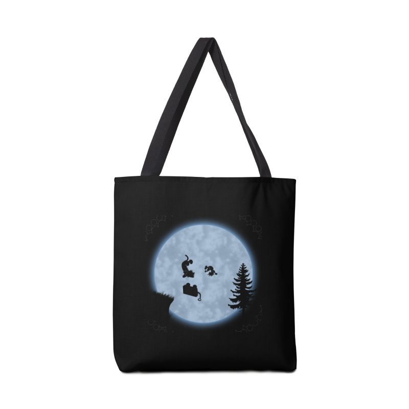 Calvin & Hobbes / E.T. Crossover Accessories Tote Bag Bag by Hadeda Creative's Artist Shop