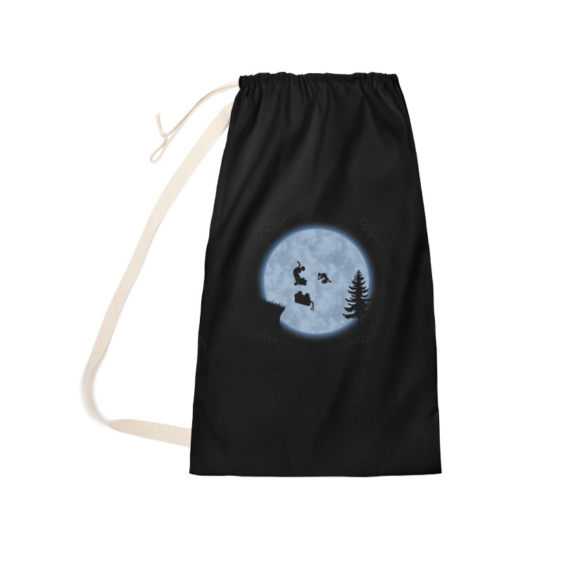 Calvin & Hobbes / E.T. Crossover Accessories Laundry Bag Bag by Hadeda Creative's Artist Shop