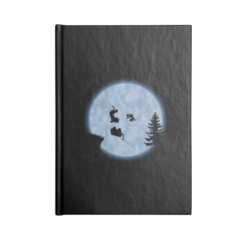Calvin & Hobbes / E.T. Crossover Accessories Lined Journal Notebook by Hadeda Creative's Artist Shop