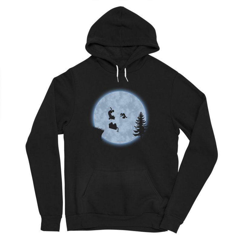 Calvin & Hobbes / E.T. Crossover Men's Sponge Fleece Pullover Hoody by Hadeda Creative's Artist Shop