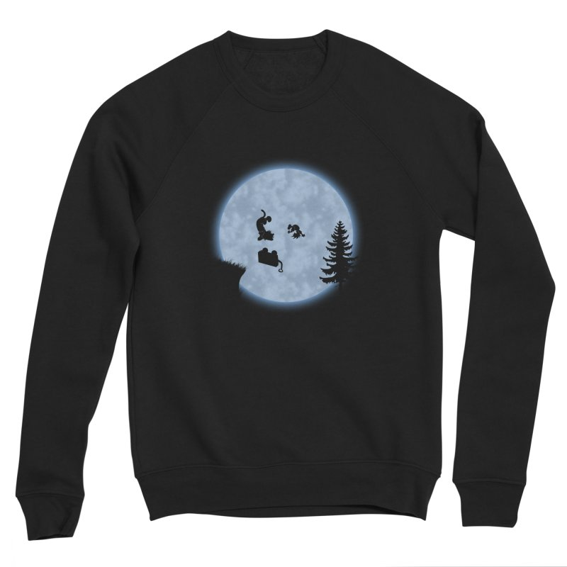 Calvin & Hobbes / E.T. Crossover Women's Sponge Fleece Sweatshirt by Hadeda Creative's Artist Shop