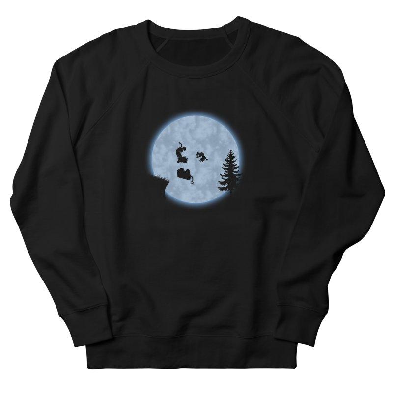 Calvin & Hobbes / E.T. Crossover Women's French Terry Sweatshirt by Hadeda Creative's Artist Shop