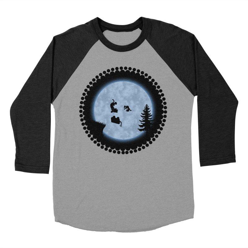 Calvin & Hobbes / E.T. Crossover Women's Baseball Triblend Longsleeve T-Shirt by Hadeda Creative's Artist Shop