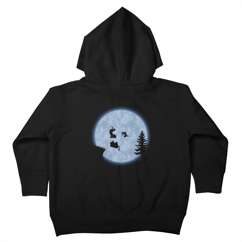 Calvin & Hobbes / E.T. Crossover Kids Toddler Zip-Up Hoody by Hadeda Creative's Artist Shop