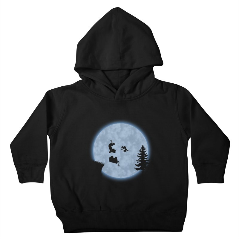 Calvin & Hobbes / E.T. Crossover Kids Toddler Pullover Hoody by Hadeda Creative's Artist Shop