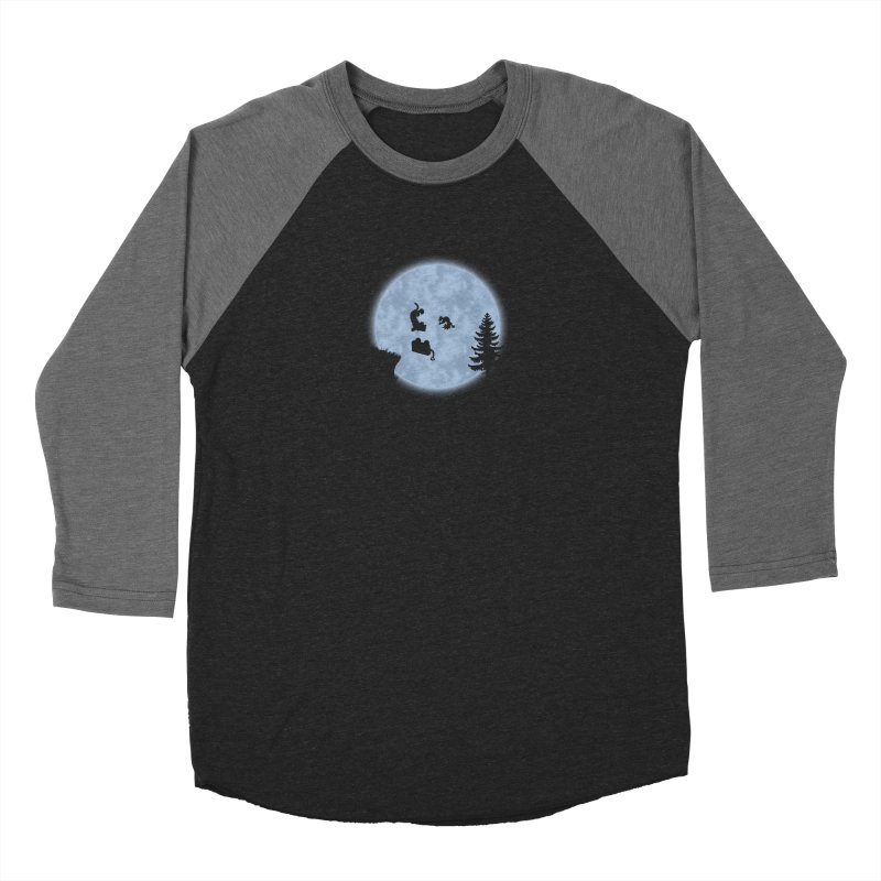 Calvin & Hobbes / E.T. Crossover Women's Longsleeve T-Shirt by Hadeda Creative's Artist Shop
