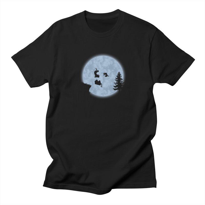 Calvin & Hobbes / E.T. Crossover Men's T-Shirt by Hadeda Creative's Artist Shop