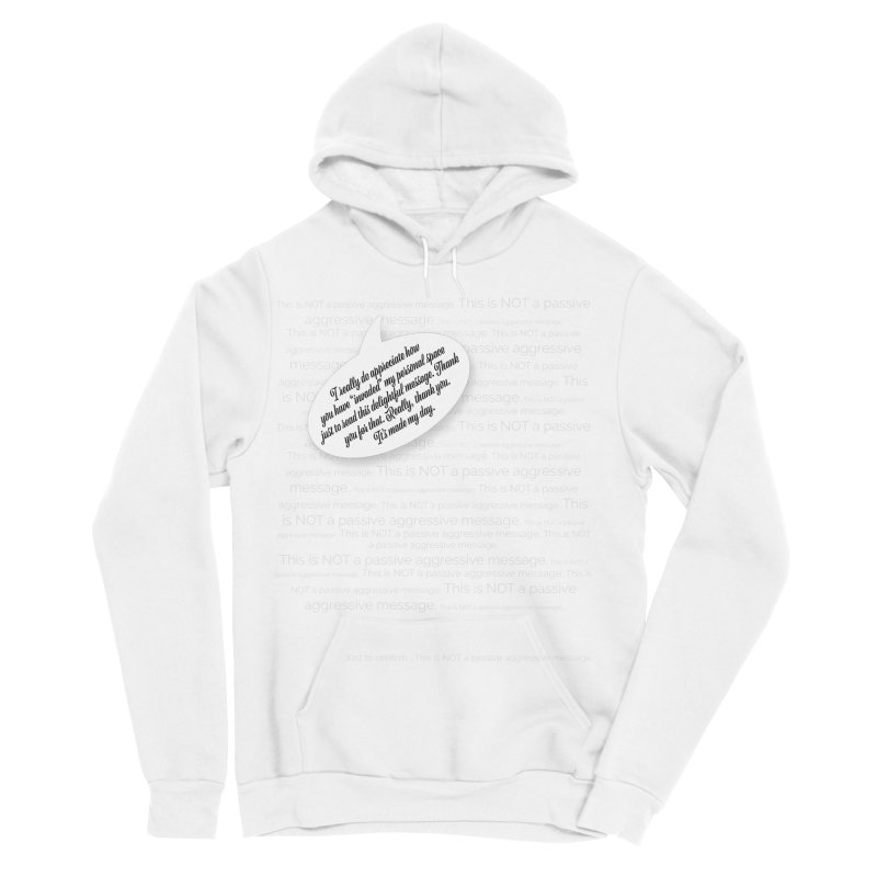 Thank you for reading this. Really. Thank you. Women's Sponge Fleece Pullover Hoody by Hadeda Creative's Artist Shop