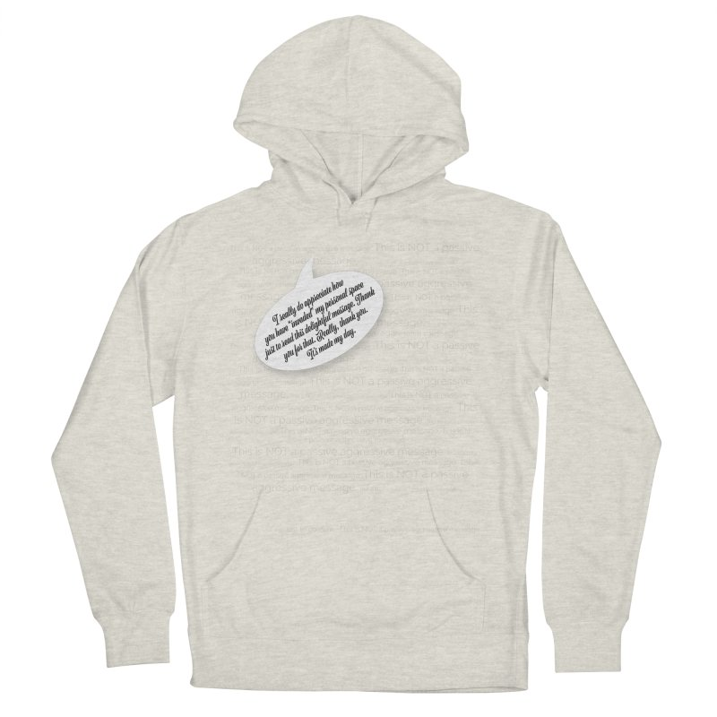 Thank you for reading this. Really. Thank you. Men's French Terry Pullover Hoody by Hadeda Creative's Artist Shop