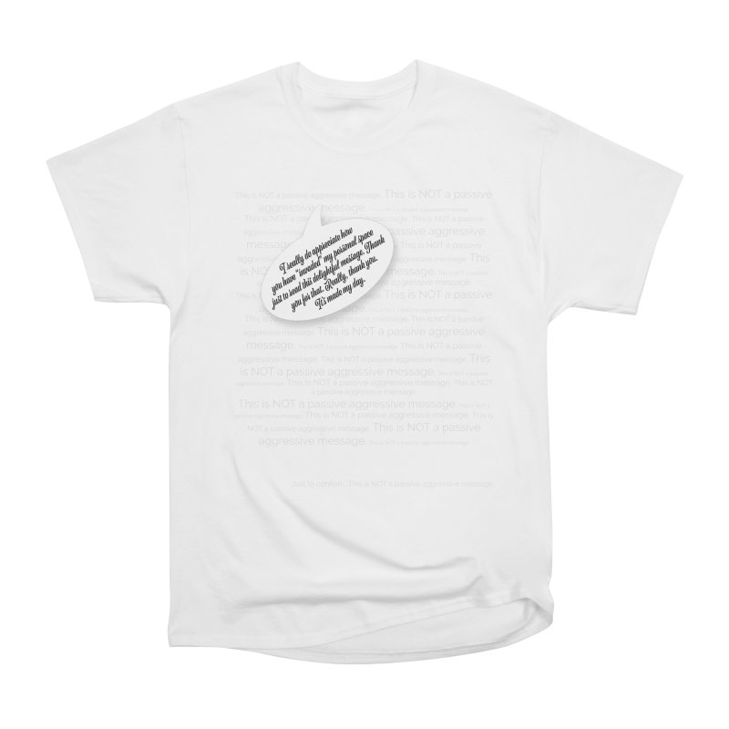 Thank you for reading this. Really. Thank you. Men's Heavyweight T-Shirt by Hadeda Creative's Artist Shop