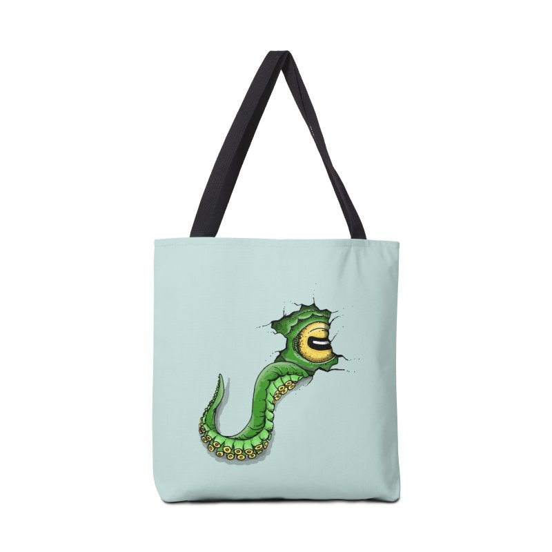 Octopus In Need Of A Hug Accessories Bag by Hadeda Creative's Artist Shop