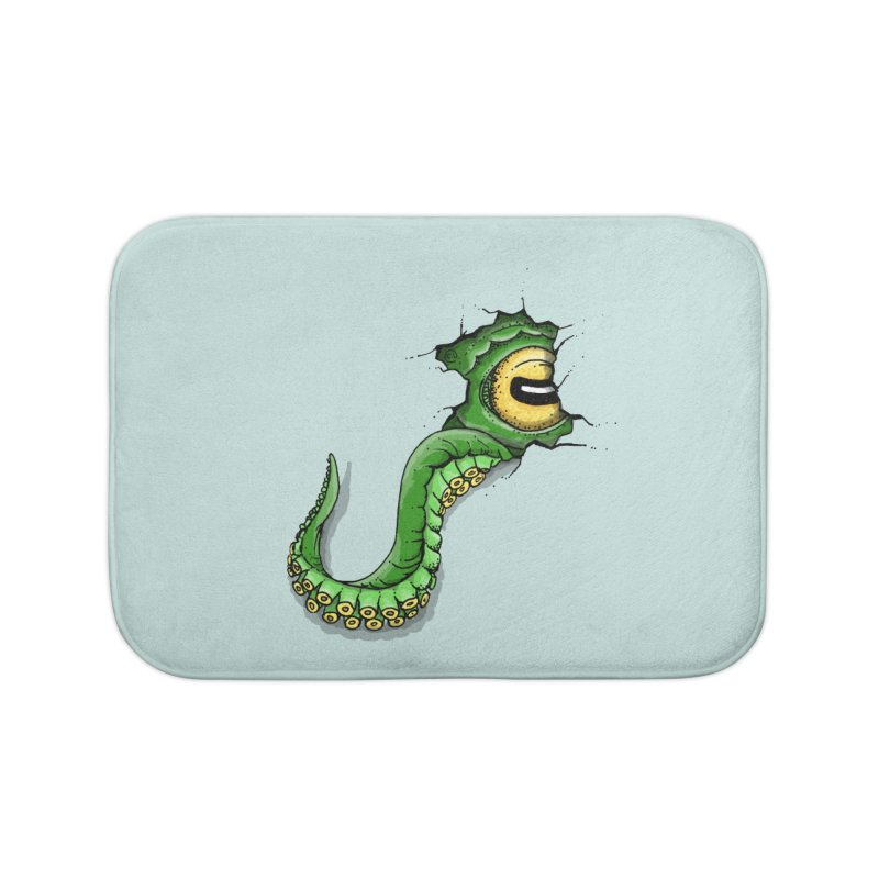Octopus In Need Of A Hug Home Bath Mat by Hadeda Creative's Artist Shop