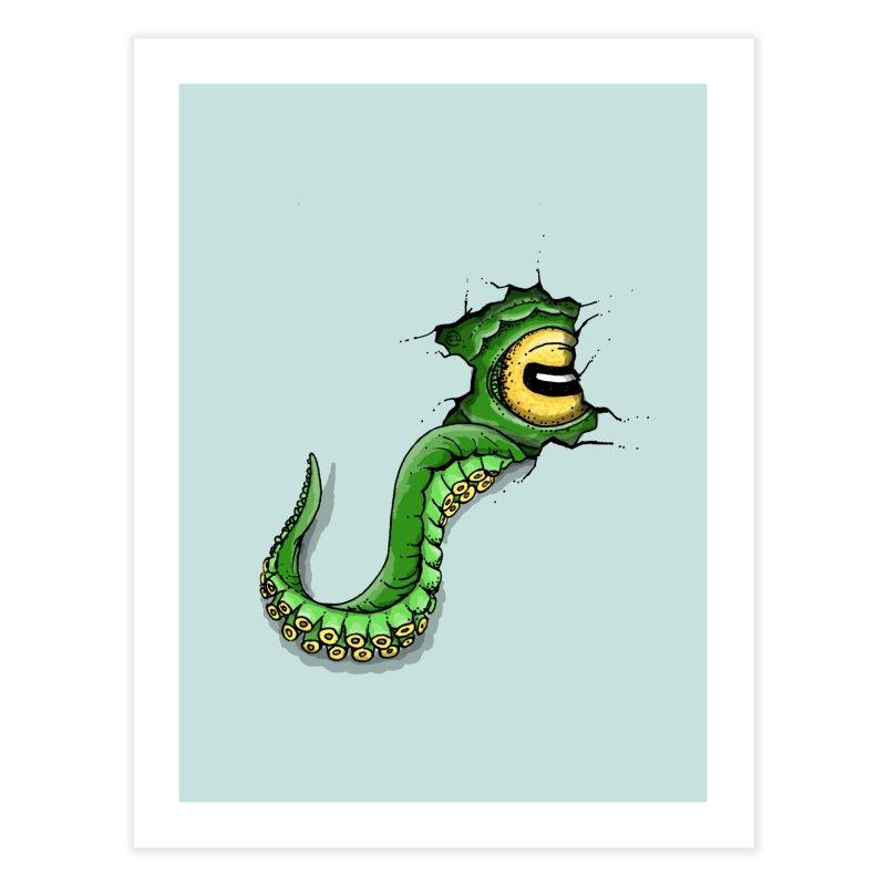 Octopus In Need Of A Hug Home Fine Art Print by Hadeda Creative's Artist Shop
