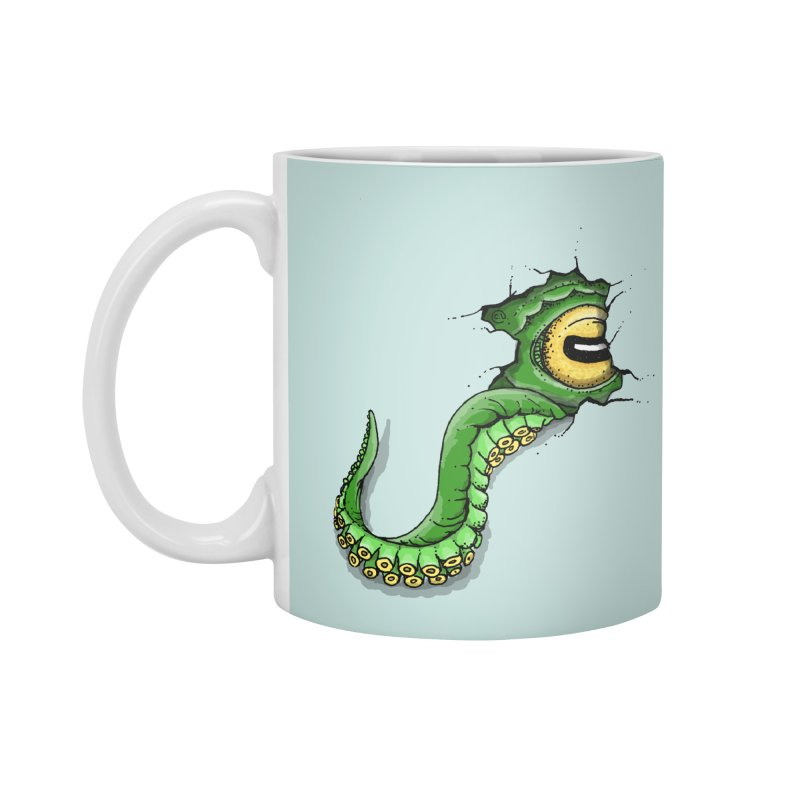 Octopus In Need Of A Hug Accessories Mug by Hadeda Creative's Artist Shop