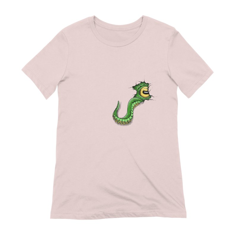 Octopus In Need Of A Hug Women's Extra Soft T-Shirt by Hadeda Creative's Artist Shop